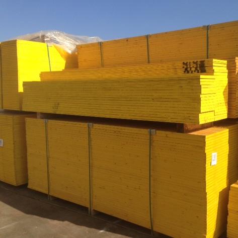 Pannelli in legno per armatura cbl di p bertone srl - Pannelli gialli tavole armatura ...